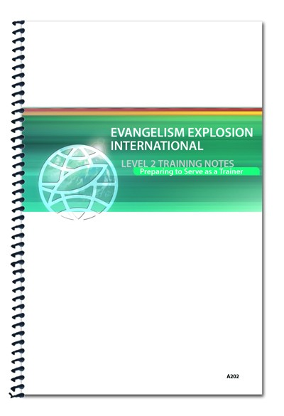 Level 2 Student Notebook: Preparing to Serve as a Trainer