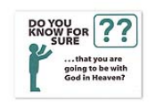 Giant Print - Do You Know For Sure Gospel Tract (pack of 10)