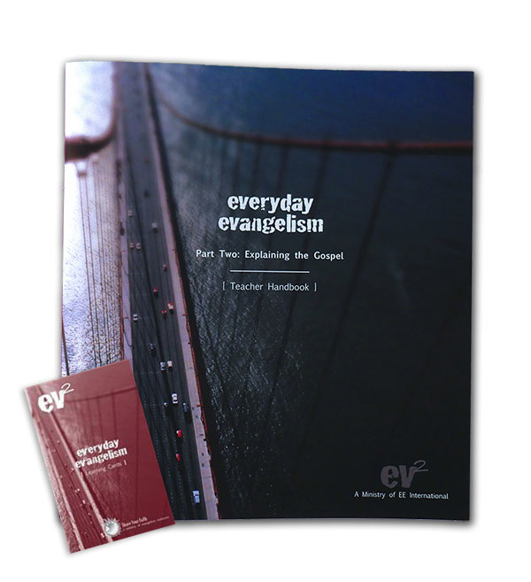 Everyday Evangelism Teachers Manual and Learning Cards