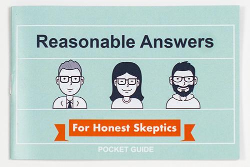 Reasonable Answers for Honest Skeptics Pocket Guide 5 pack