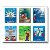 HFK Gospel Pathway Mini Combination Poster