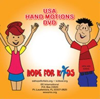 Hope For Kids Hand Motions DVD