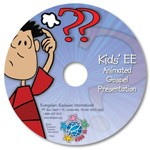 Kids EE Animated Gospel Presentation CD (pack of 10)