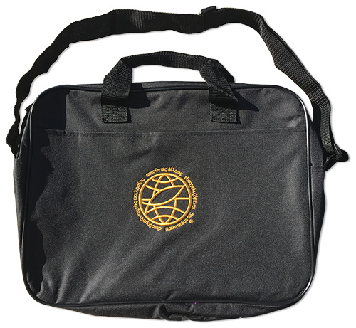 Black Briefcase with EE Logo