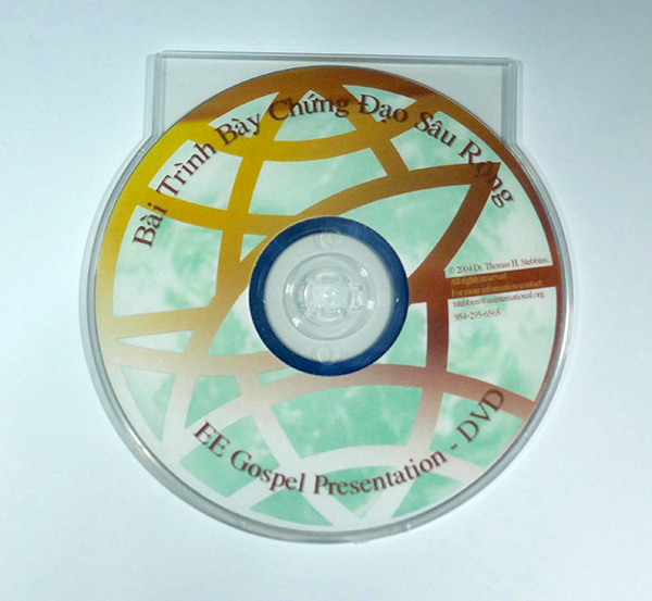 Vietnamese Gospel Presentation DVD by Dr. Tom Stebbins