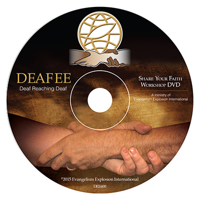 Share Your Faith Workshop DVD in American Sign Language