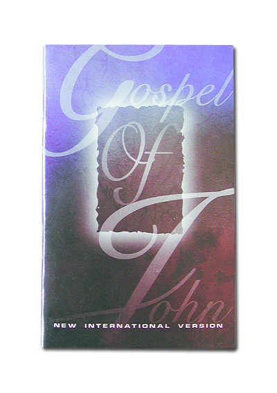 Large Print Gospel of John - NIV