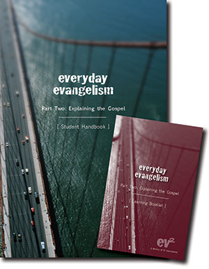 Everyday Evangelism Student Workbook and Learning Cards