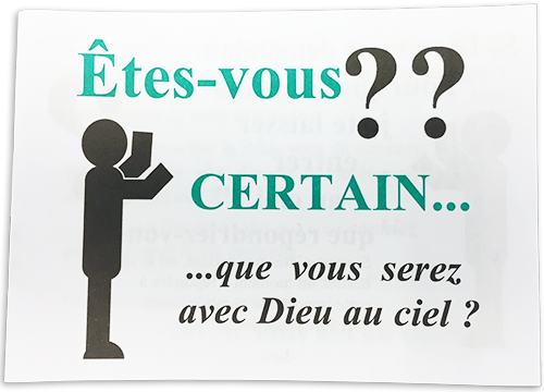 French Gospel Tract