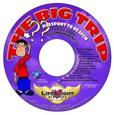 Kids' EE Musical Split Trax CD