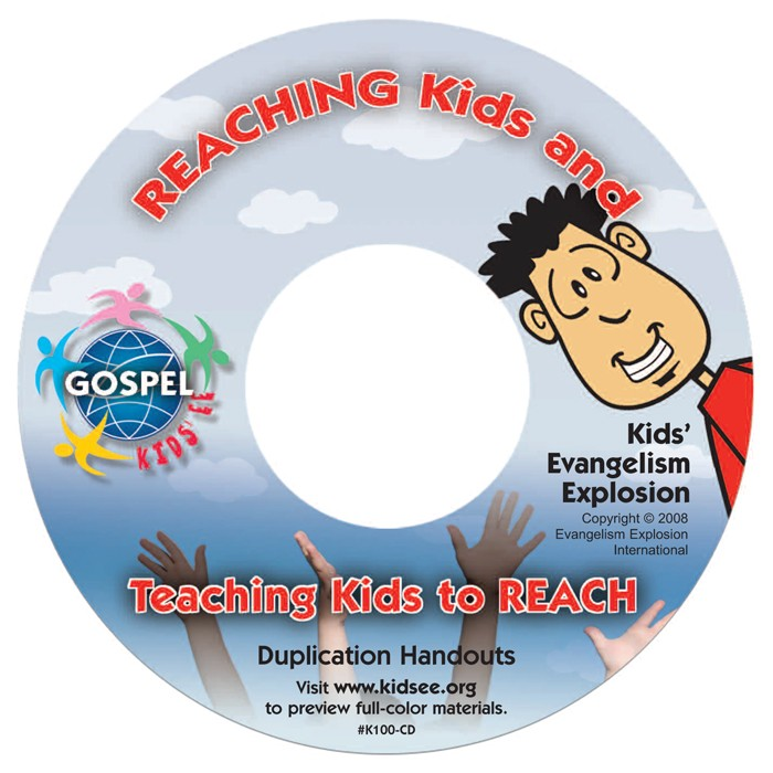Kids' EE Handout Duplication CD